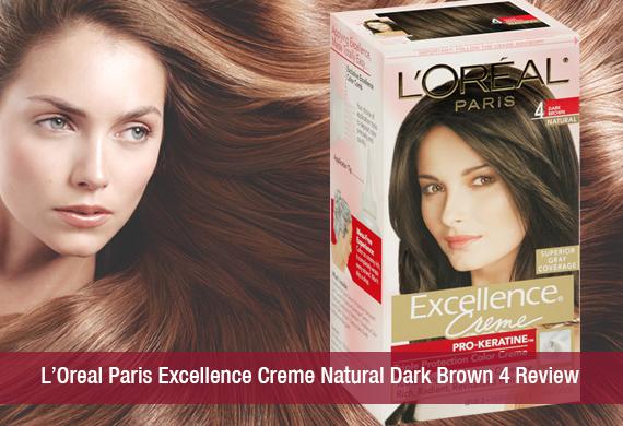 L Oreal Paris Excellence Creme Natural Dark Brown 4 Review Khoobsurati
