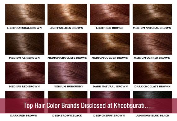 Top Hair Color Brands Disclosed at Khoobsurati…