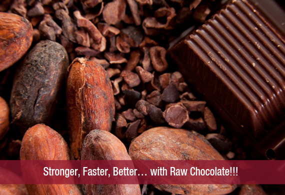 Stronger, Faster, Better… with Raw Chocolate!!!