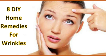 home remedies to get rid of wrinkles