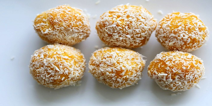how to make coconut ladoo video