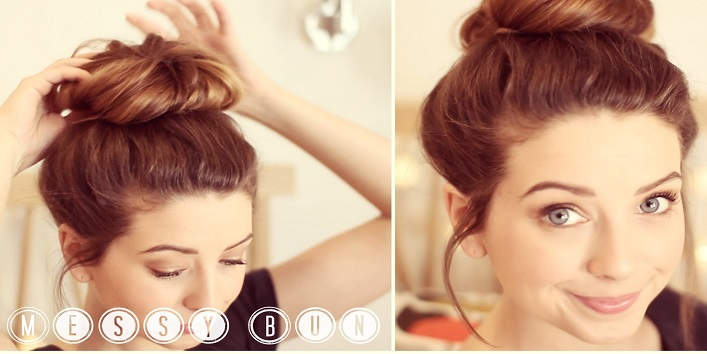 Improvise Your Look For An Easy-Breezy Updo