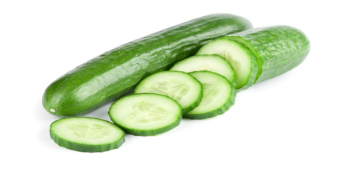 Cucumber to get glowing skin