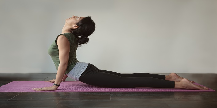 how to get firm breasts with Bhujangasana