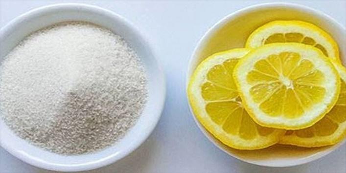 Apply lemon-sugar mixture