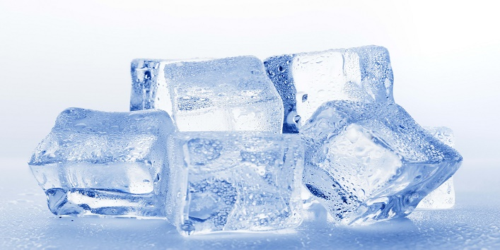 Avoid eating ice during extreme weather