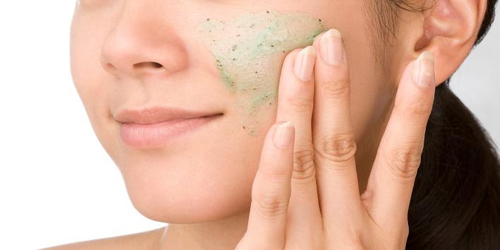 Don't scrub your skin