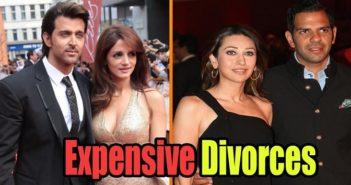 6 High-Priced Celebrity Divorce Settlements Till Now