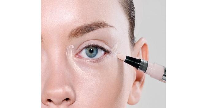 Avoid cream based concealers