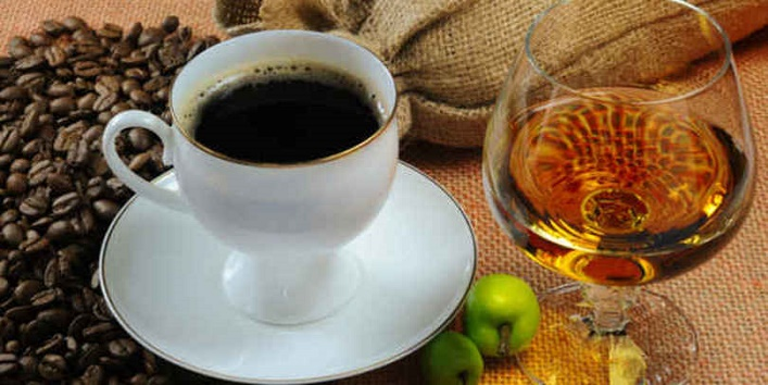 Avoid caffeine and alcohol