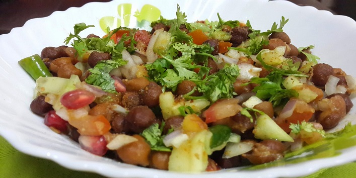 Sprouted Kala Chana Salad