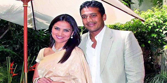 Mahesh Bhupati and Lara Dutta