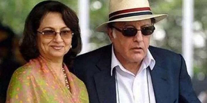 Nawab Pataudi and Sharmila Tagore