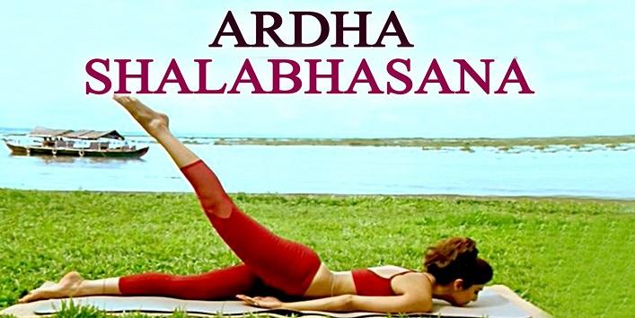 Ardha Salabhasana