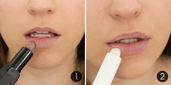 Use lip primer