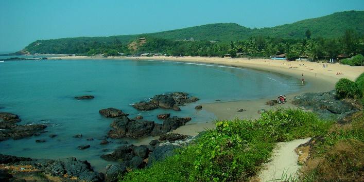 Gokarna beach in india