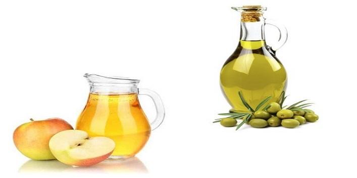 Apple Cider Vinegar and Olive Oil