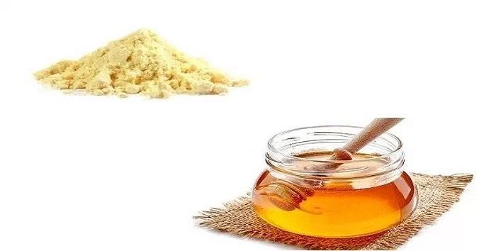 Honey and Gram Flour