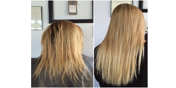 Go for extensions and smart haircut