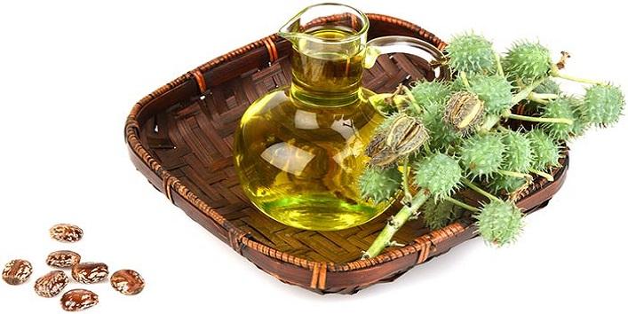 Castor oil for increasing hair volume