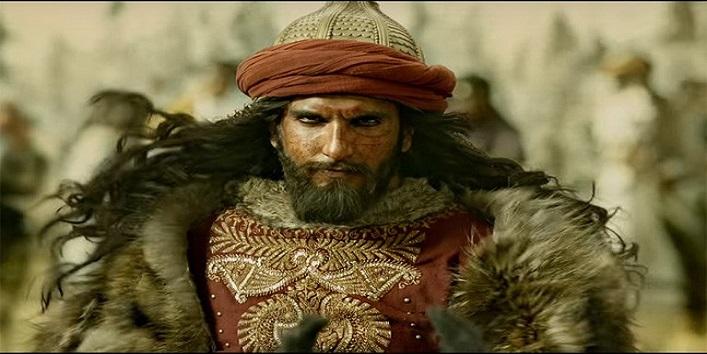 Ranveer Singh in the movie Padmavati