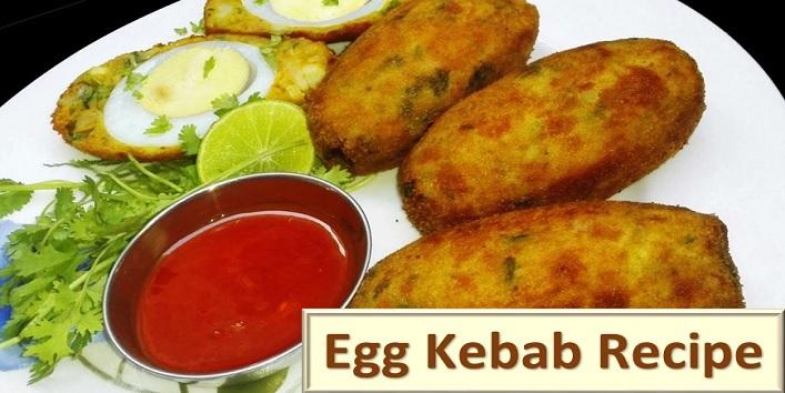Egg kebabs recipe