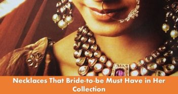 necklaces that every bride must have in her collection