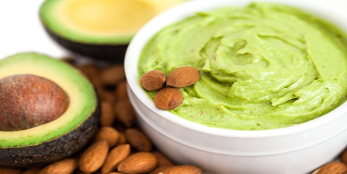 Avocado face pack for smooth skin