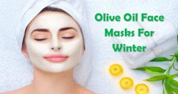 Olive Oil Face Masks
