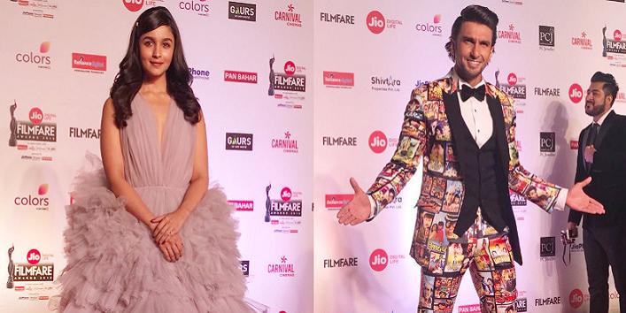 Looks from Filmfare Awards 2018