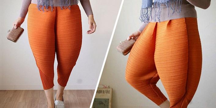 Chicken leg pants