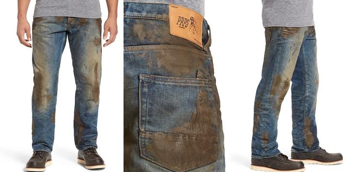 Muddy pants