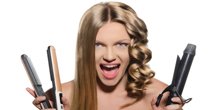 Often use hair styling tools