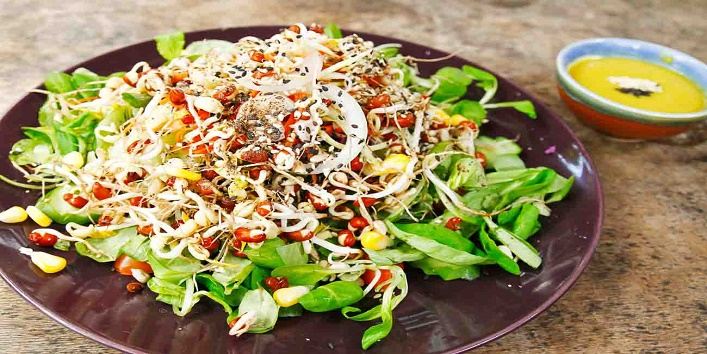 Sprout salad
