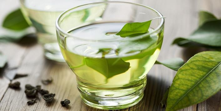 Peppermint tea or green tea