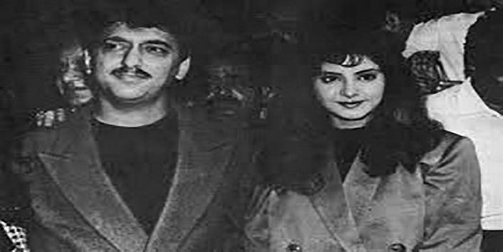 Divya Bharti and Sajid Nadiadwala