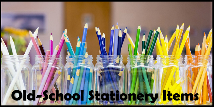 Old-School Stationery Items