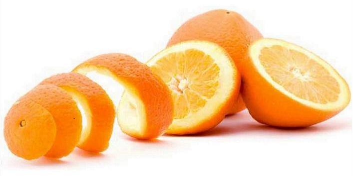 Orange peel and masoor dal pack