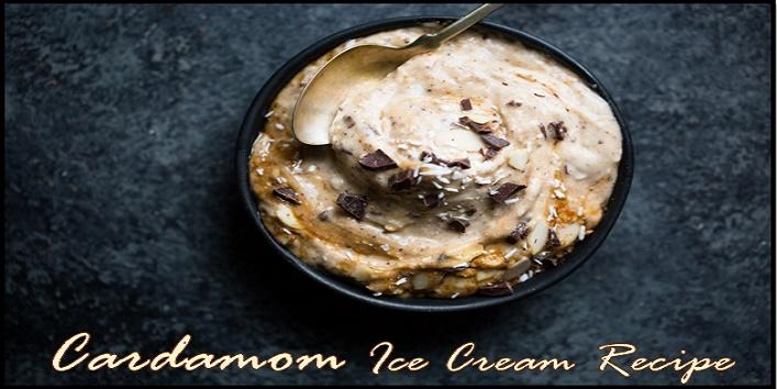cardamom ice cream recipe
