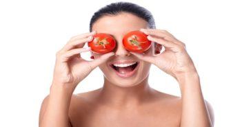 Tomato face packs