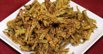 Besan bhindi recipe