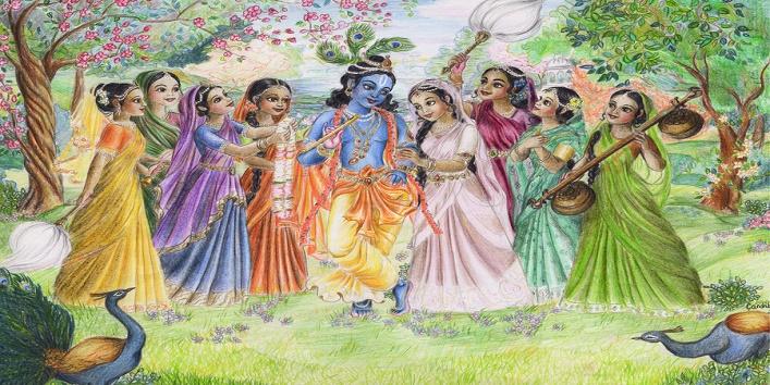 Lord Krishna's followers