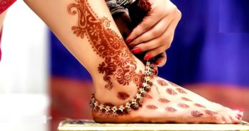 Bridal Mehendi Designs for Your Feet