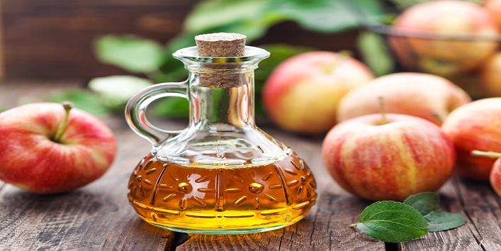 Apple cider vinegar and aloe vera mask