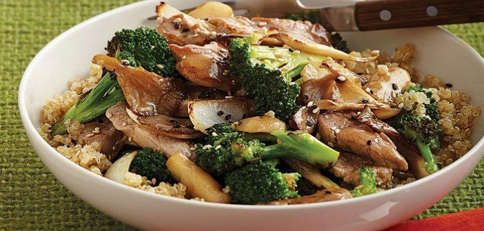 Try This Healthy Broccoli Mushroom Stir- Fry Recipe
