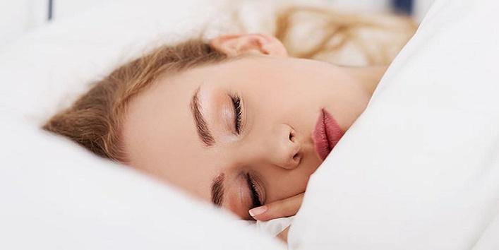 Sleeping with mascara on