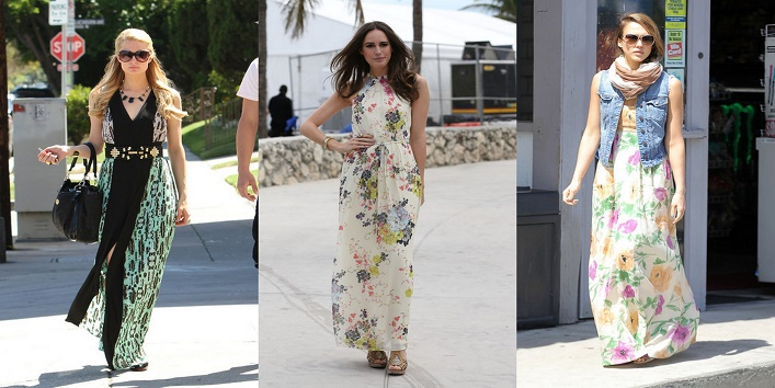 Things to Avoid While Wearing a Maxi Dress