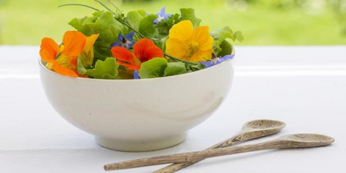 health benefits of edible flowers