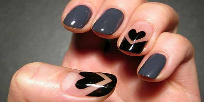 5 Classy Nail Art Designs for Short Nails - Best Nail Art Designs For Short Nails- Khoobsurati