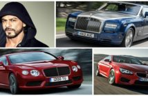 Luxury Cars of Celebrities